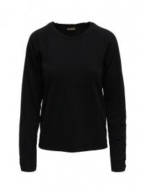 Kapital maglia nera con toppe a smile sui gomiti online