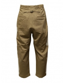 Kapital beige trousers with bones embroidered on the sides price
