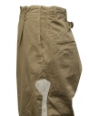 Kapital beige trousers with bones embroidered on the sides K2003LP047 BEIGE buy online