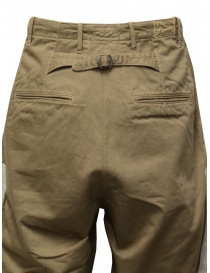 Kapital beige trousers with bones embroidered on the sides buy online price