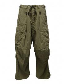 Kapital khaki green jumbo cargo pants EK-624 KHAKI