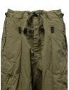 Kapital khaki green jumbo cargo pants EK-624 KHAKI buy online