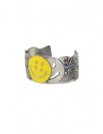 Kapital bracciale in ottone con smile e labirinti online