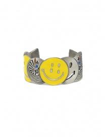 Kapital bracciale in ottone con smile e labirinti prezzo
