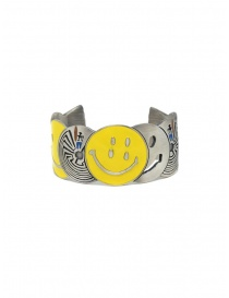 Kapital brass bracelet with smile and labyrinths price