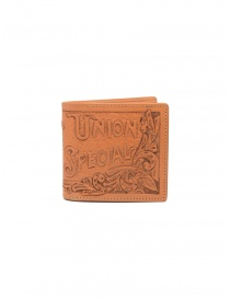 Kapital Union Special leather wallet with carved flowers online