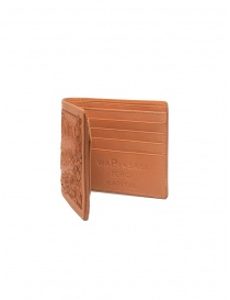 Kapital Union Special leather wallet with carved flowers