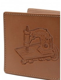 Kapital Union Special wallet in hand-carved leather