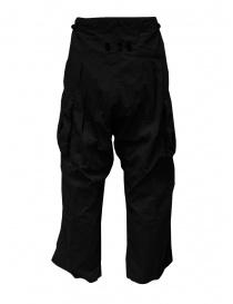 Kapital pantaloni Jumbo cargo neri