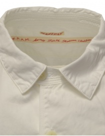 Kapital white cotton shirt three front pockets