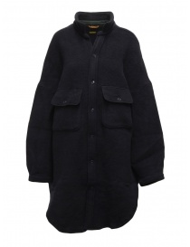 Kapital cappotto-camicia in lana blu navy online