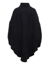 Kapital cappotto-camicia in lana blu navy