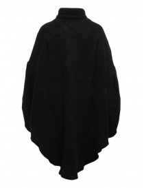 Kapital cappotto a camicia in lana nera