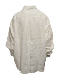 Kapital white shirt embroidered in linen