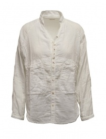 Kapital white shirt torn edges EK-534 WHITE