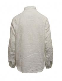 Kapital camicia bianca bordi sdruciti
