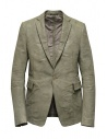 Carol Christian Poell suit jacket in grey kangaroo leather LM/2640P buy online LM/2640P ROOMS-PTC/33