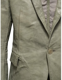 Carol Christian Poell suit jacket in grey kangaroo leather LM/2640P price