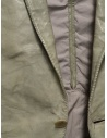 Carol Christian Poell suit jacket in grey kangaroo leather LM/2640P price LM/2640P ROOMS-PTC/33 shop online