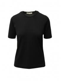 Goes Botanical black Merino wool t-shirt online