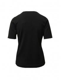 Goes Botanical black Merino wool t-shirt