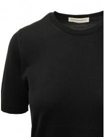 Goes Botanical t-shirt in lana Merino nera prezzo