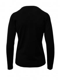 Goes Botanical black cardigan in Merino wool womens cardigans buy online