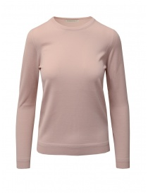 Goes Botanical pink Merino wool sweater online