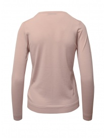 Goes Botanical maglia in lana Merino rosa