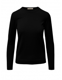 Goes Botanical maglia in lana Merino nera 141D NERO order online