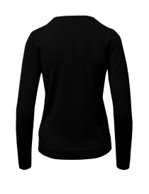 Goes Botanical black Merino wool sweater