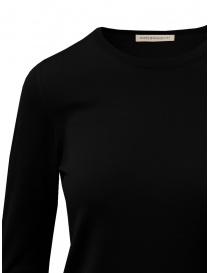 Goes Botanical black Merino wool sweater price