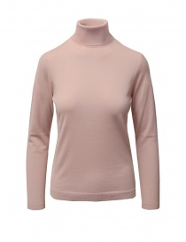 Goes Botanical turtleneck in light antique pink merino wool online