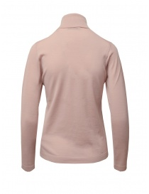 Goes Botanical turtleneck in light antique pink merino wool
