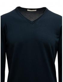 Goes Botanical petroleum blue V-neck pullover price