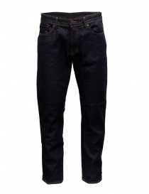 Selected Homme jeans blu scuro in cotone organico online