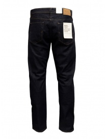 Selected Homme jeans blu scuro in cotone organico