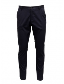 Selected Homme slim fit navy trousers online