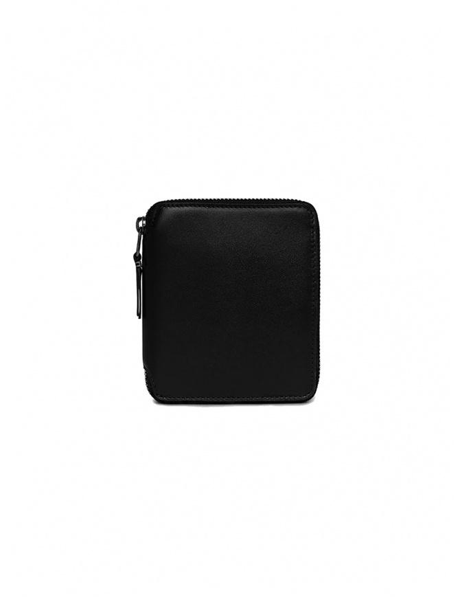 Comme des Garçons portafoglio nero SA2100VB senza logo SA2100VB BLACK portafogli online shopping