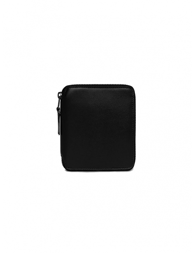 Comme des Garçons very black wallet SA2100VB with no logo SA2100VB BLACK wallets online shopping