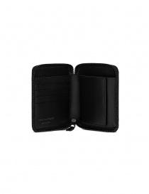 Comme des Garçons portafoglio nero SA2100VB senza logo