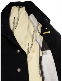 Carol Christian Poell OM/2658B heavy black coat buy online price