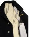 Carol Christian Poell OM/2658B cappotto nero pesante prezzo OM/2658B-IN KOAT-BW/101shop online