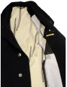 Carol Christian Poell OM/2658B heavy black coat price OM/2658B-IN KOAT-BW/101 shop online