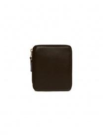Comme des Garçons wallet in brown leather SA2100 BROWN order online