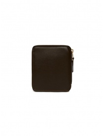 Comme des Garçons wallet in brown leather price