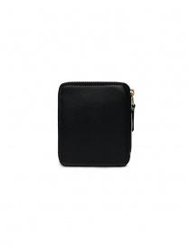 Comme des Garçons square wallet in black leather price