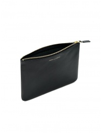 Comme des Garçons medium pouch in black leather
