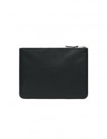 Comme des Garçons medium pouch in black leather price