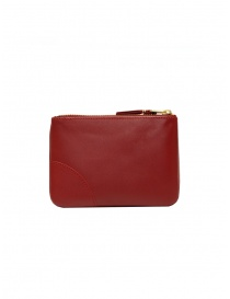 Comme des Garçons red leather wallet buy online